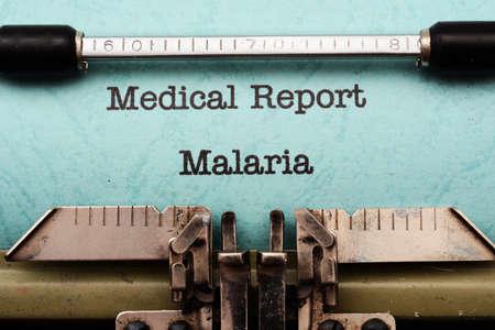 plasmodium: Malaria Stock Photo