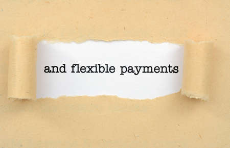 Flexible payments photo