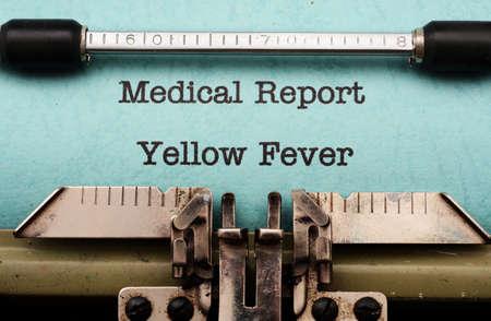 Yellow fever photo