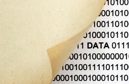 Web data concept Stock Photo - 27099231