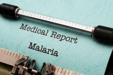 malaria: Малярия