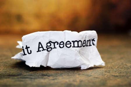 broken contract: Agreement