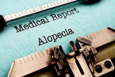 Alopecia photo