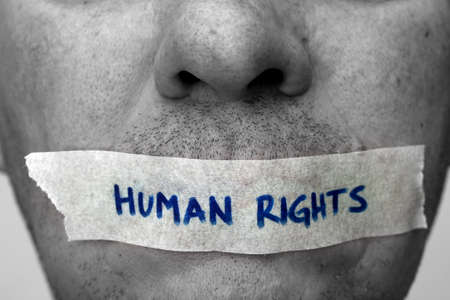 Die Menschenrechte Standard-Bild - 27379187