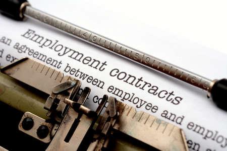contratos: Los contratos de trabajo