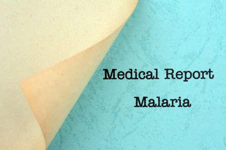 malaria: Malaria Stock Photo