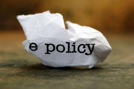 failed plan: Policy trash