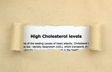 High cholesterol levels photo
