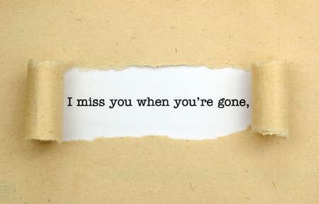 te extra�o: Te echo de menos