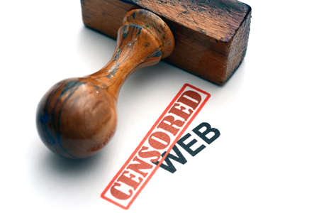 Censored web photo