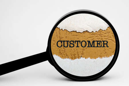 Search for customer photo