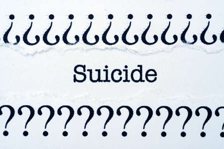Suicide photo