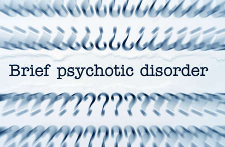Psychotic disorder photo