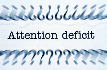 deficit: Attention deficit Stock Photo