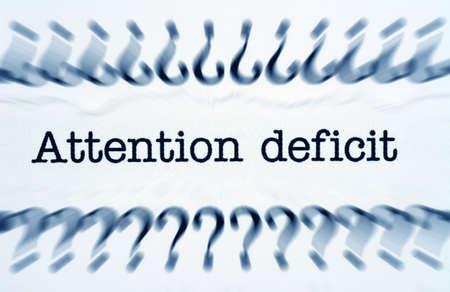 deficit: Attention deficit Stock Photo