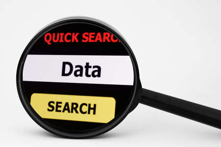 Search for data photo