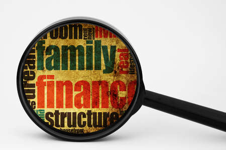 Family finance concept photo