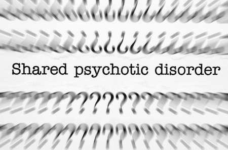 Psychotic disorder photo