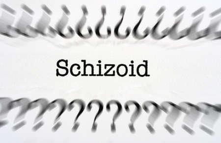 psychosocial: Schizoid disorder