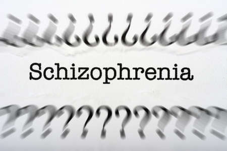 Schizophrenia concept photo