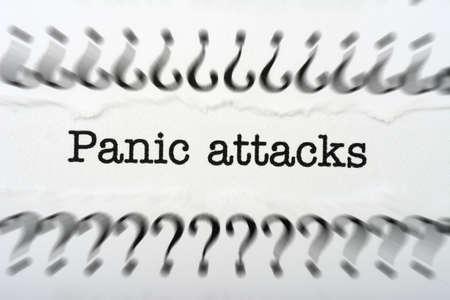 Panic attack photo