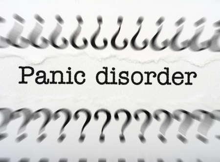 Panic disorder photo