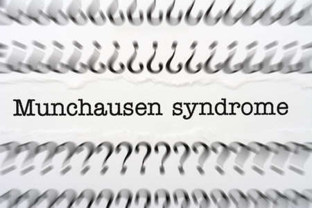 baron: Munchausen syndrome Stock Photo