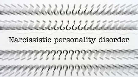 perfectionist: Narcissistic personality disorder