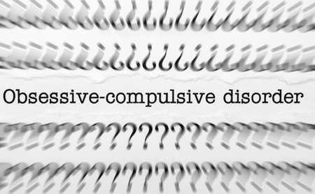 obsessive compulsive: Obsessive compulsive disorder