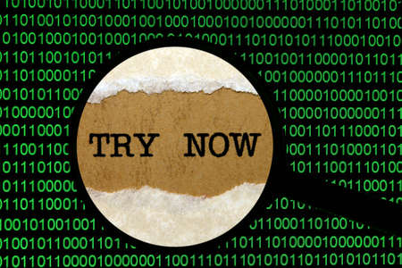 try: Try now online