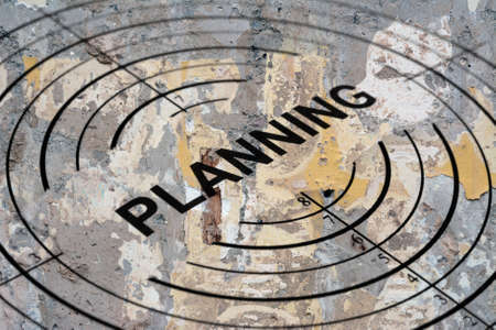 Planning target photo