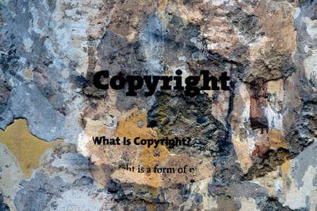 secured property: Copyright
