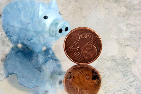 cent: Euro cent Stock Photo