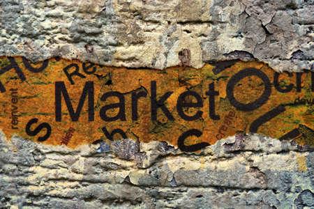 Market concept photo