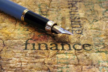 Finance concept photo