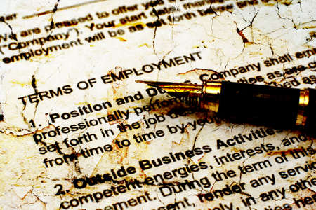 recruiters: Employment contract