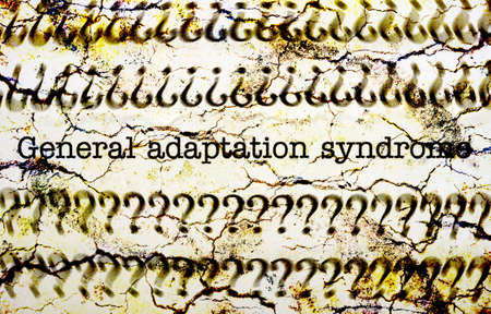 General adaption syndrome photo
