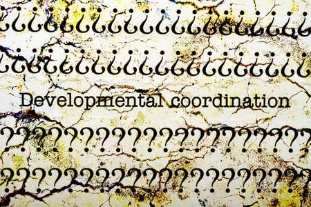 coordinacion: Desarrollo de la coordinaci�n
