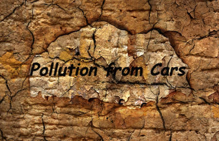 Pollution from cars photo