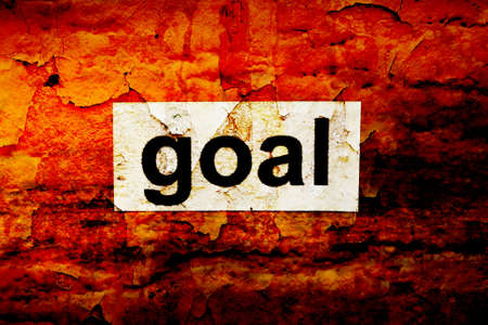 relationsip: Goal Stock Photo
