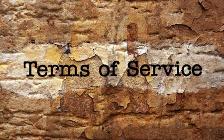 Terms of service photo
