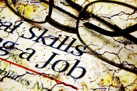 Skills and  job photo