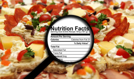 nutrition label: Nutrition facts