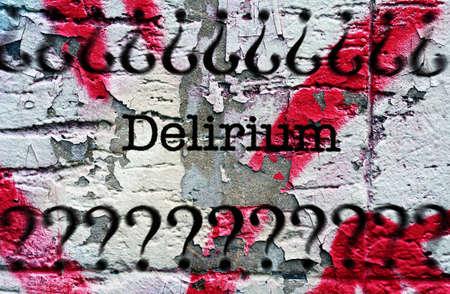 delirium: Delirium grunge concept