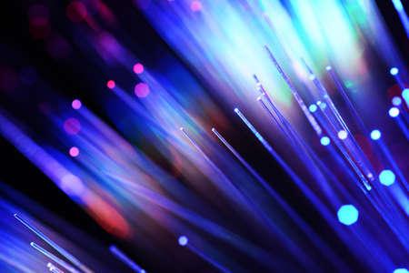 fiberoptics: Fiber optics Stock Photo