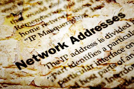 ip address: Network ip address