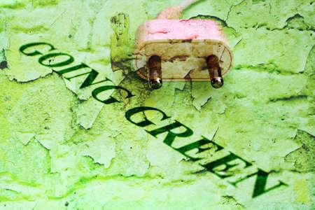 going green: Going green Stock Photo