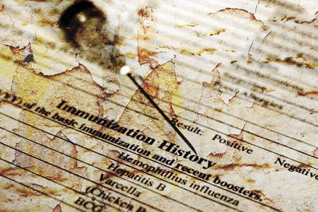 immunization: Immunization history