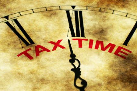 tax refund: Tax time Stock Photo
