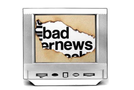 bad news: Bad news on tv